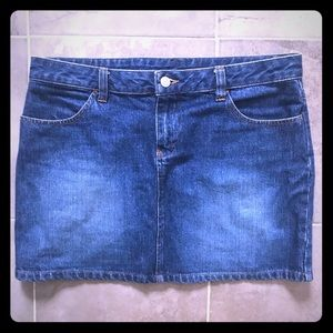 Vintage Old Navy jean skirt size 8